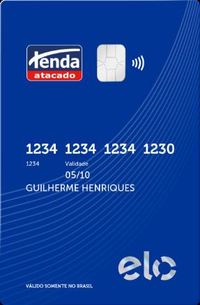 Cartão Tenda Pessoa Jurídica